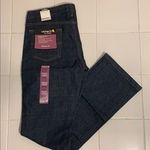 Carhartt dark wash denim